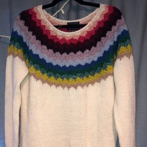AEO Colored neck sweater